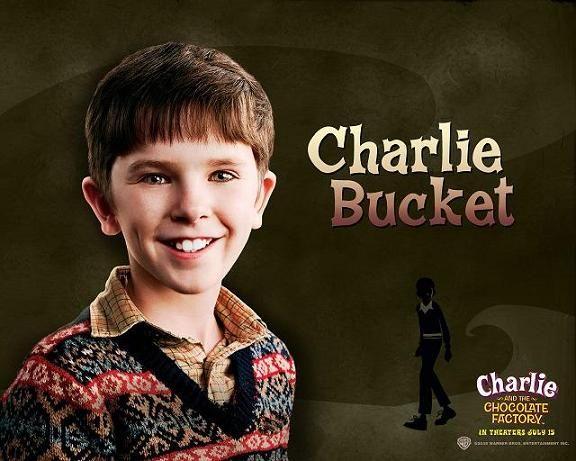 Charlie Bucket joué par Freddie Highmore